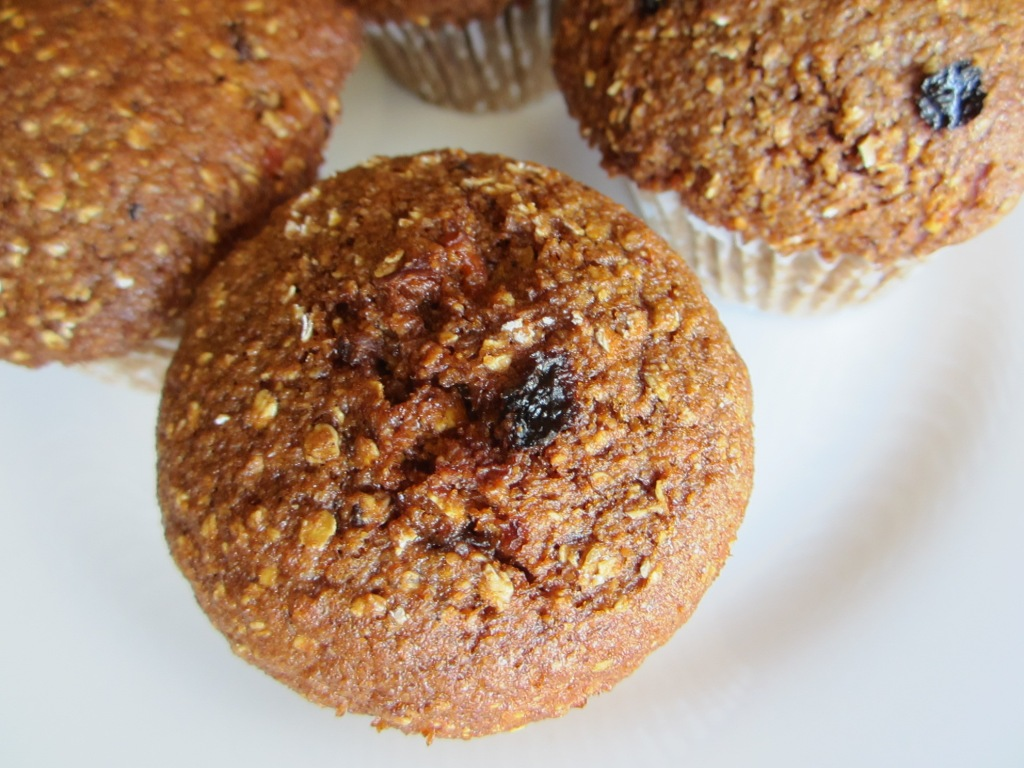 Carrot Apple Raisin Muffins - Gluten-free, dairy-free 1